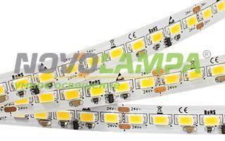 Лента IC2-5000 24V Cool 8K 4xH (5630, 600 LED, LUX). Фото