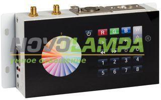 Контроллер DMX SR-2816WI Black (12V, WiFi, 8 зон). Фото
