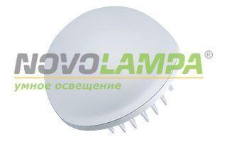 Светильник LTD-80R-Opal-Sphere 5W Warm White. Фото