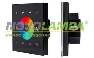 Панель Sens SR-2811-IN Black (12-24V, RGBW, DMX). Фото