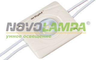 Модуль герметичный ARL-PC2835-V160-1.4W-12V White. Фото