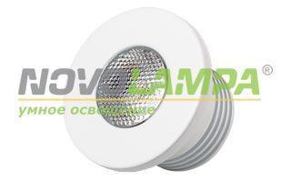 Светодиодный светильник LTM-R35WH 1W White 30deg. Фото