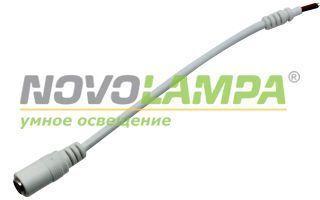 Коннектор питания J5.5-2.1mm-M-10cm. Фото