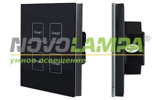 Панель SR-2400TG-IN Black (DALI, DIM). Фото